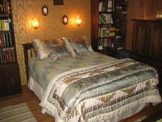 Queen Master Bedroom - Bolton Landing house vacation rental photo
