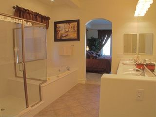 Lake Las Vegas house photo - Master Bath with oversized soaking tub and separate shower