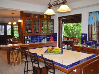 Beautiful Caribbean Classic vacation home with fantastic views.