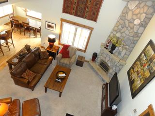 Steamboat Springs condo photo - View of Living Room from Loft Area