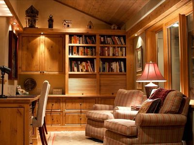 Relax and Read a Book in the Cozy Study