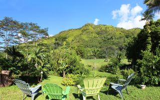 Wainiha house photo - You will feel like you have the entire river valley to yourselvs