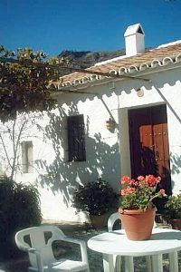 El Chorro cottage rental - La Casita Blanca