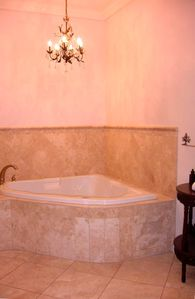 Master Bath bubble tub
