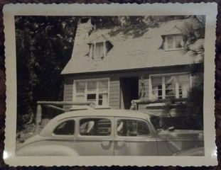 Lake Arrowhead cabin photo - 1920's original picture of the Cozy Norlander's Cabin.