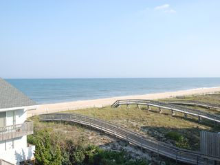 Bethany Beach house photo - Ocean and sunrise view from crows nest deck