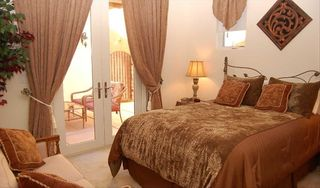 Lake Las Vegas house photo - Private quarters Casita with pillowtop queen bed and french doors to Courtyard