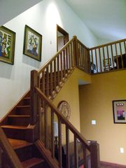 Bushkill chalet photo - stairs to loft
