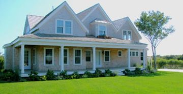 Front View of Seven Mile Lane (Sconset Rental)