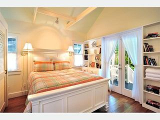 Key West house photo - The Guesthouse Bedroom 3: A world all your own, with vaulted ceiling.