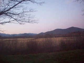 North Conway house photo - Views at Dusk