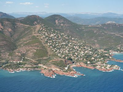 Le Trayas (us) from the air