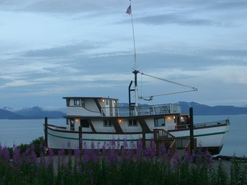 Homer lodge rental - The Double Eagle overlooks Kachemak Bay in Homer.