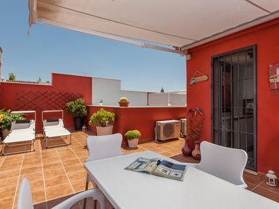 Malaga City apartment rental - Terrace