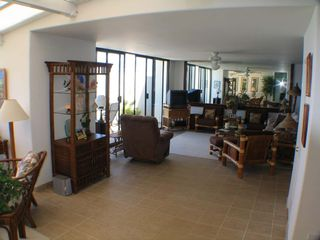 Princeville condo photo - The atrium-living room combine for spacious living