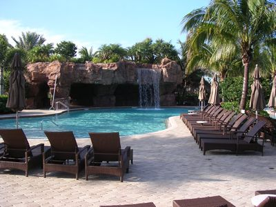 One of the leisure club pools