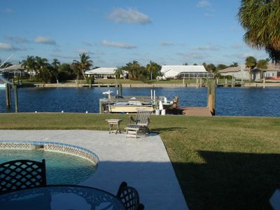 Pool, Dock, and Boat Lift