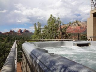 Sedona house photo - Enjoy the sunset or the billions of stars from the hot tub