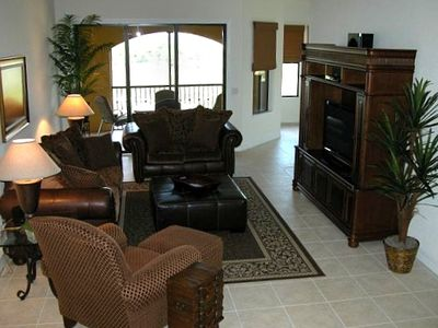 Family Room, Comfortably Furnished