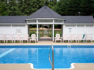North Conway townhome photo - Outdoor pool for use in the summer