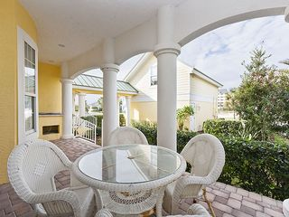Palm Coast house photo - Have a refreshing drink at the garden view patio.