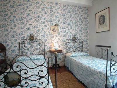 Orbetello villa rental - Twin bedroom