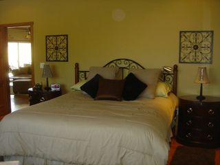 Lake Nacimiento house photo - One of the 2 Master Bedrooms with walk in showers