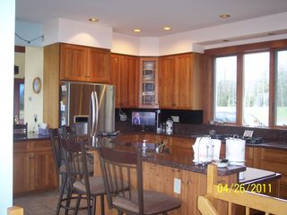 Westport Island house photo - Kitchen with bar