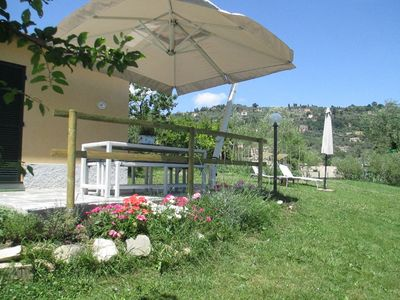 PRETTY COTTAGE WITH LARGE GARDEN IN NATURE IN SANTA MARGHERITA LIGURE - B & B