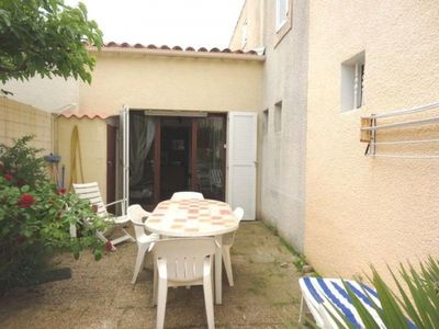 Narbonne-Plage house, 1 room, 4 people