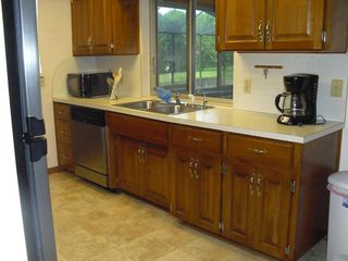 Winter Haven house photo - Open-space Kitchen with Garden View