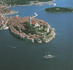 Rovinj City apartment photo - Historical centre of Rovinj - panoramic view