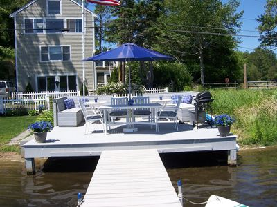 BEAUTIFUL WATERFRONT BOUTIQUE  BEACH HOUSE ON GREAT HERRING POND