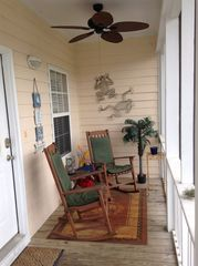 Gulf Shores cottage photo - Cozy Porch