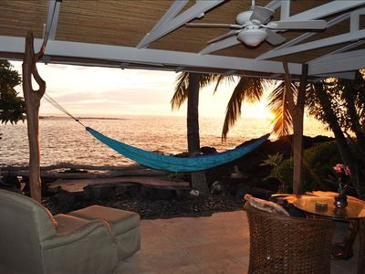 The most relaxing & amazing KONA sunset!
