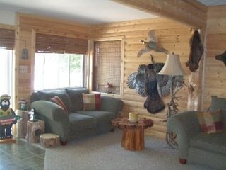 Lapeer cabin photo - Living room- open floor plan