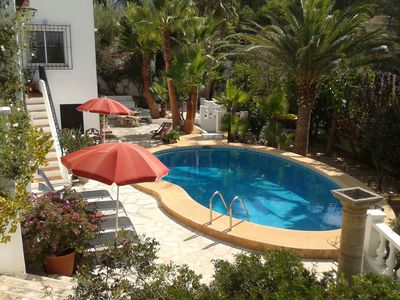 Beautiful Detached Villa In Moraira With V Private Pool Large Garden & Fab Views