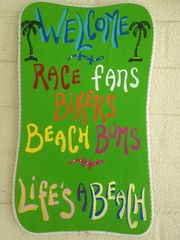 Daytona Beach house photo - Bikers, Race Fans, Beachcombers . . . everyone's welcome!