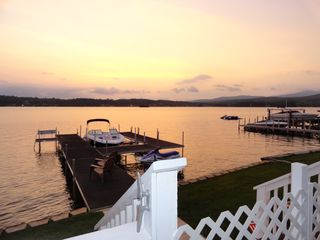 Laconia house photo - Sunset view
