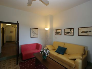 La Collinaccia First Floor, living room upstair