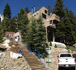 Heavenly Valley condo photo - A look at Tahoe's Treehouse in the summer Blue sky and pine trees everywhere!
