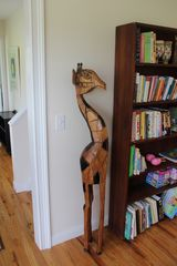 New Paltz house photo - Wooden Giraffe, Books & Games