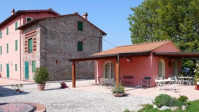 Lucca chateau / country house rental - Apartment 'Melissa' and the Portico