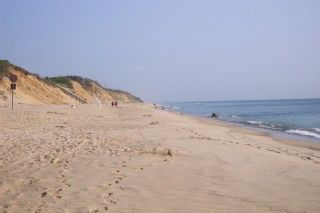 Eastham house photo - Take an early morning walk on Nauset Light Beach