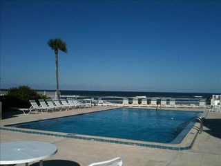New Smyrna Beach condo photo - Amazing pool, literally right on the beach.