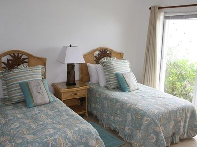 Guest Bedroom; watch the sun rise from the comfort of your bed!