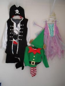 Kiddy dress up clothes available