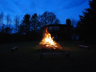 Windham house photo - Bonfire pit