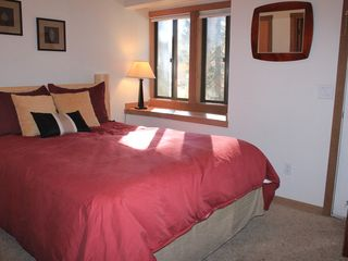 Vail townhome photo - Queen in Third Bedroom