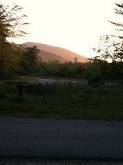 Ossipee Lake cabin photo - Sun Setting on your vacation home